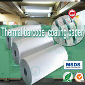 Thermal matte surface coating layer thermal synthetic BOPP without ribbon