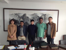 Indian Customer Visit for Plaster Plant and Board Plant