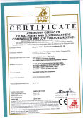 CE certificate of rooftop packaged unit