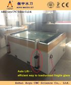 glass cutting, cnc waterjet cutter with auto lift