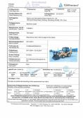 backhoe loader Iran ISO test report