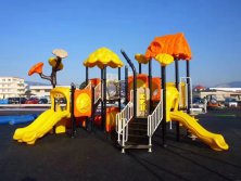 Forest outdoor playground equipment for kids
