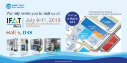 Exhibition Invitation - IFAT Africa 2019, South Africa