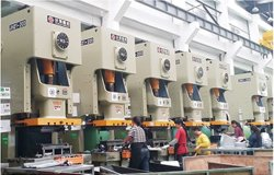 stamping parts production line all with world brand power press