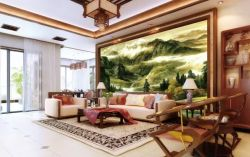wall mural chinese style