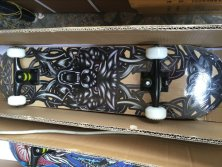 Good quality skateboard with heat-transfer printing design
