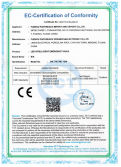 CE certification for LED emergency light