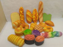 Wholesale Breads PU Squishy Slow Rising Toys