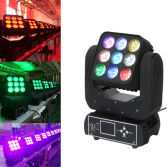 New 9X12W 4in1 Disco LED Moving Head Beam Light