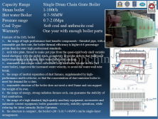Horizontal Single Drum Chain Geate Boiler