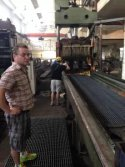 Chile customer in Lihongyuan Workshop