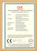 CE certificate for arc welding machine