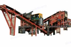 10-20tph mobile crushing & screen plant