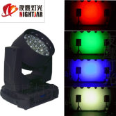 Stage effect 19*15w led spot Four focus head wash light