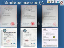 Manufacture Lincense and QA