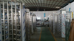 Full Height Turnstile Production Working Line