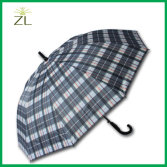Lattice staight golf business umbrella
