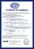 RoSH Certificates of Solar Panel