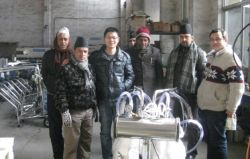 Good Friends From Nepal Visiting Factory.