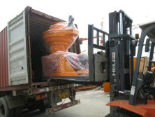Peru container dispatching