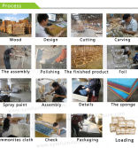 King sofa/chair production process