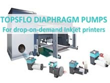 TOPSFLO Diaphragm Pump for Drop-on-demand Inkjet Printers