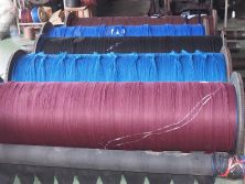 PP yarn roll up-reeling machine