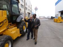Africa customer visited our company on Oct,2014.