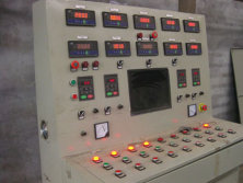 control board to control pyrolysis plant running