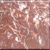 rooster blood red marble