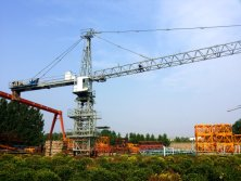 Model 7030 Tower Cranes Test Run for USA Client