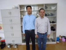 Mr.FU with our NEW customer