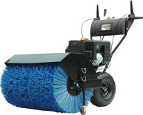 92cm width gasoline snow sweeper