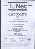 ISO 9001 Certificate for Water Meter