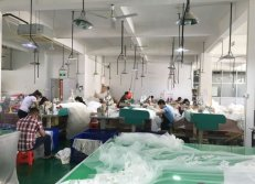 Factory dress making department