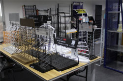 Countertop custom design metal wire display rack