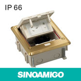 IP66 Waterproof Function floor Socket Junction Box