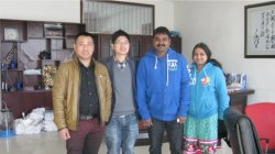 Ms.Laksmi and Mr.Leemy Mohan Visit Factory