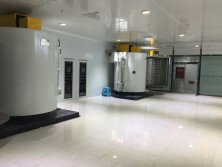 Evaporation vacuum coating machine installation