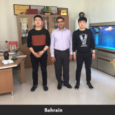 Bahrain customer visiting factory