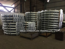 conveyor idler steel frame