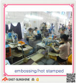the production process---3-embossing printing