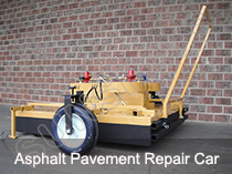 Asphalt Pavemennt Repair Car