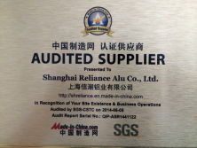 MADE-in-CHINA AUDITED SUPPLIER by SGS