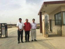 Customers Visit our factory in Gansu Province