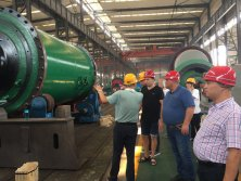 Customer from Russia Visited CIC Factory for Business Cooperation