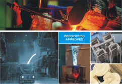 PED CE Approved Foundry