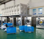 Laundry Washing Machines In Clients Factory