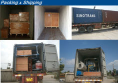 Packing and Shipping of Machine