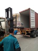 India container dispatching
